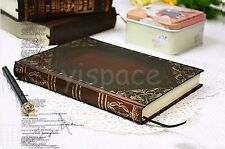 Vintage Europe classic notebook blank diary journal Blank&line Retro note book