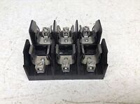 Littlefuse L60060C-3C Fuse Holder 3 Pole 600V 60A With Cover #13A30