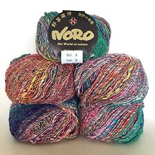 Noro Singles DK - 1 x 50 g - 54% coton, 34% laine, 12% soie-Shade 9