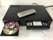 Samsung DVD-V6800 DVD Player 6Head VCR VHS Combi + Remote