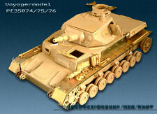 PE for  Pz.kPfw. IV ausf D Armor (For TRISTAR 015) , 35076, VOYAGERMODEL 1/35