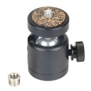 """Professional 360 Swivel Tripod Mini Ball Head 1/4"""" Screw Mount for DSLR Ca #N1"""