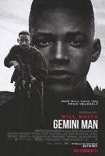 Gemini Man - original DS movie poster 27x40 D/S - Will Smith