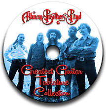 ALLMAN BROTHERS BAND ROCK GUITAR TABS TABLATURE SONG BOOK SOFTWARE CD