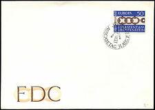 Liechtenstein 1965 Europa Cover #C33522