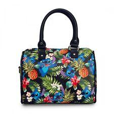 Disney Stitch Hawaiian Print Crossbody Loungefly Bag