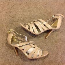 Women's High Heel Glamorous Peep Toe Slingback Stilettos sandal Party Shoes Sz 9