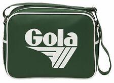 Gola Redford Umhängetasche Bottle Green / White Grün Weiß Erwachsene Neu