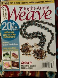 Beading Basics - Right-Angle Weave • Bead & Button Special Issue • Fall 2008