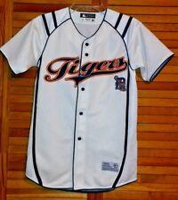 Mlb Baseball Detroit Tigers Jersey White Youth Large Genuine Merchandise