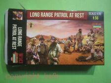 NEU 1:72 Strelets #M143 WKII Afrika Long Range Patrol at Rest / Pause 8. Armee
