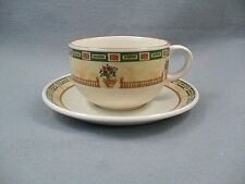 Staffordshire Tableware Balustrade Cup & Saucer