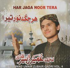 Muhammad umair zubair Qadri - Har JAGA Noor TERA - Vol. 4 -Nuevo Naat Cd