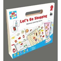 Let's Go Shopping Childrens Kids Memory Learning Educational Game Toy Party Gift