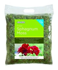 Large Pack Fresh Sphagnum Moss - Hanging Baskets Planters