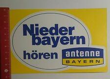 Aufkleber/Sticker: Niederbayern hören Antenne Bayern (23101656)