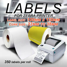 Direct Thermal Shipping 100x150mm 4x6 Labels for Fastway Startrack eParcel Zebra