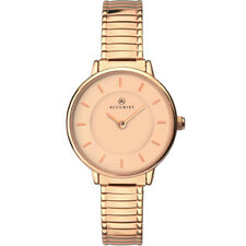 Accurist Rose Gold Dial Stainless Steel Expander Ladies Watch 8141