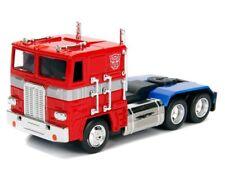 Jada 1:32 Display Hollywood Rides Transformers G1 Optimus Prime Diecast Car