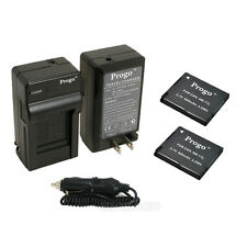 NB-11L Battery + Charger For Canon Powershot A4000 IS CB-2LD