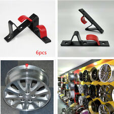 Car SUV Metal Tire Wheel Rim Hub Hook Holder Wall Mounted Hanging Display Stand