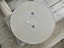 MARLIN OLD ROUND SWIMMING POOL SKIMMER DECK LID COVER REPLACEMENT USED MERLIN