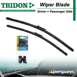 Tridon FlexConnect Wiper Blade & Connector Set for Fiat 500 C 08-18