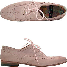 Paul Smith Lace up Suede Pink, Miller Suede Pink