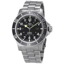Glycine Combat SUB Automatic Black Dial Mens Watch GL0095