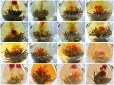 10 kinds Organic Blooming Flower Green Tea Ball Individual Vacuum pack