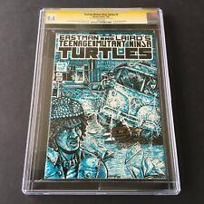 1985 Mirage Studios TMNT TEENAGE MUTANT NINJA TURTLES #3 CGC 9.4 SS Eastman NM