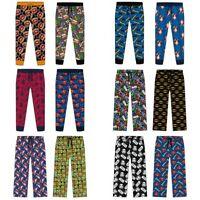 Mens Licensed Character Lounge Pants Pyjamas Bottoms S-XL
