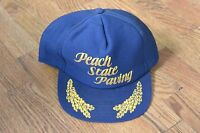 Vintage Peach State Paving Trucker Cap Hat Snapback