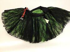 Hell Bunny LIME GREEN Petticoat NWT New RAVE TUTU Rockabilly SHORT Goth SZ S
