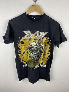Edguy Age Of The Joker Tour 2011 Mens T Shirt Size S Double Graphics Print Black