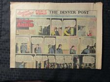 1948 Jan 18 Denver Post Comic Weekly Vg+ 4.5 Terry & the Pirates 8pgs