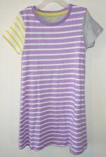 New Mini Boden Colorblock Swing Dress Girl's Sz 3-4 ~ Cute