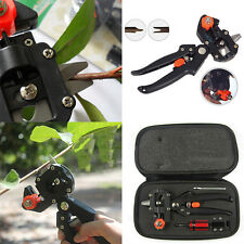 Garden Fruit Tree Pro Pruning Shears Scissor Grafting Cutting Tools Suit + Bag