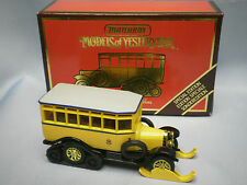 MATCHBOX MODELS OF YESTERYEAR Y-16 1923 SCANIA-VABIS POST BUS SPECIAL EDITION