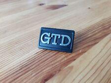 1 insigne GTD latéral golf II 2 gti 16v G60