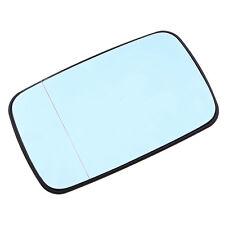 51168250436 Side Mirror Glass for BMW E39/E46 320i 325i 525i Blue Tinted Driver