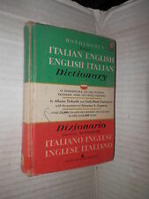DIZIONARIO TASCABILE MONDADORI ITALIANO INGLESE INGLESE ITALIANO Tedeschi 1961