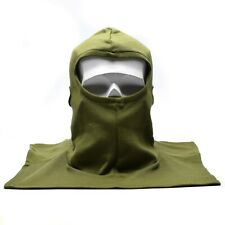Genuine British army tactical balaclava face mask Olive FR AFV Crew tanker NEW