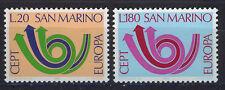 SAN MARINO 1973 MNH SC.802/803 CEPT