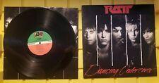 VINTAGE LP VINYL ALBUM RATT DANCING UNDERCOVER 1986 81683 6C2
