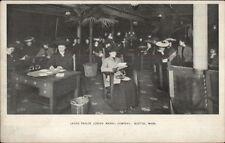 Boston MA Jordan Marsh Ladies Parlor c1905 Postcard