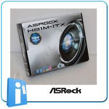 Placa base Mini ITX miTX ASRock H81M-ITX Socket 1150 con Accesorios