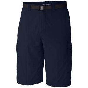 "New Mens Columbia ""Silver Ridge"" Cargo Shorts Omni-Wick Omni-Shade Ins. 10""/12"""