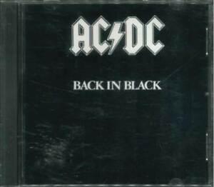"""AC/DC """"Back in Black"""" CD-Album"""