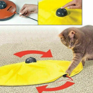 Pet Cat Meow Toy V4 Electronic Interactive Undercover Cat L1Y8 Toys Kitten N5M0